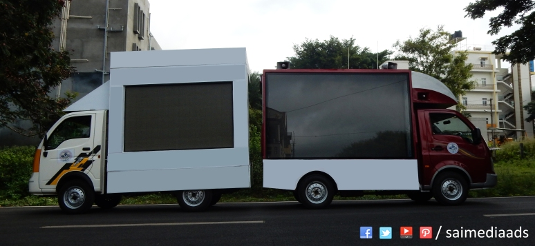 LED Van for rent in Bangalore and Karnataka