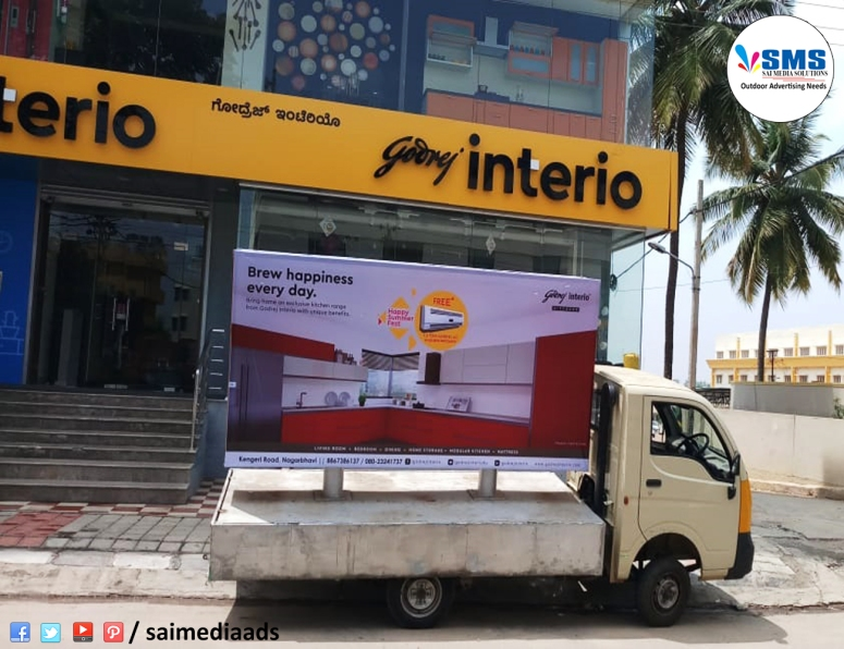 Advertising vans in rr nagar Bangalore