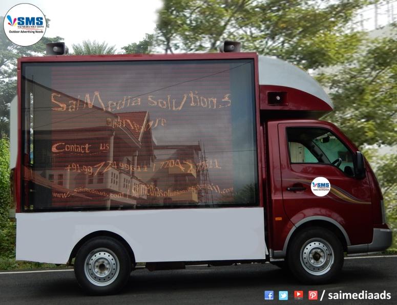 Best LED Advertising Agencies in Bangalore LED Vehicles